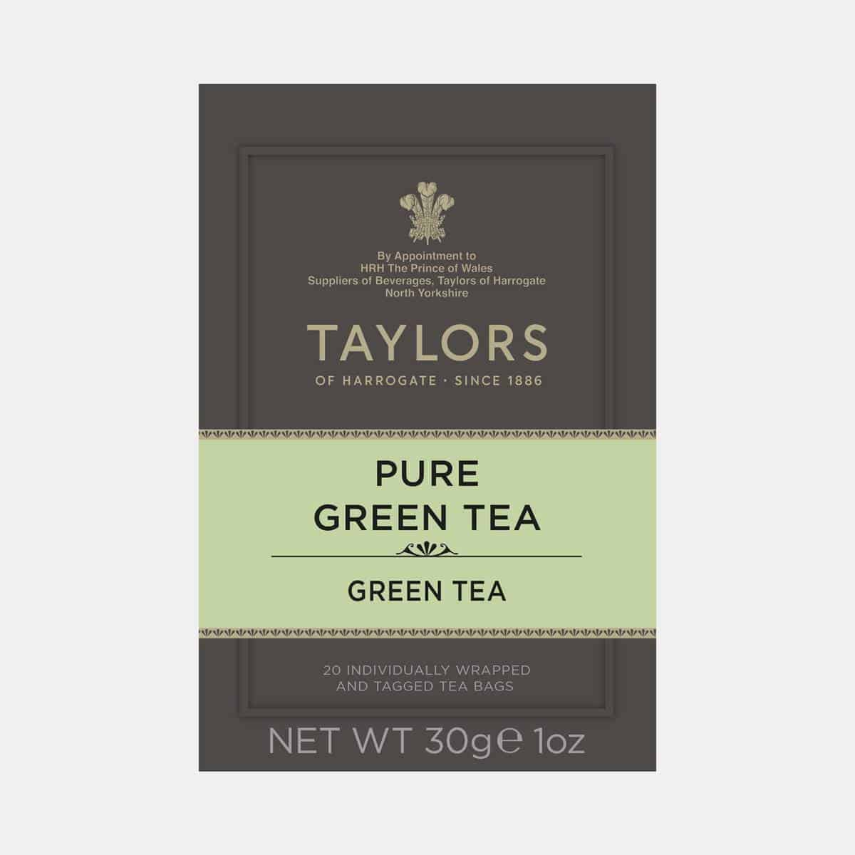 Taylors of Harrogate Pure Green Tea 20s Pack