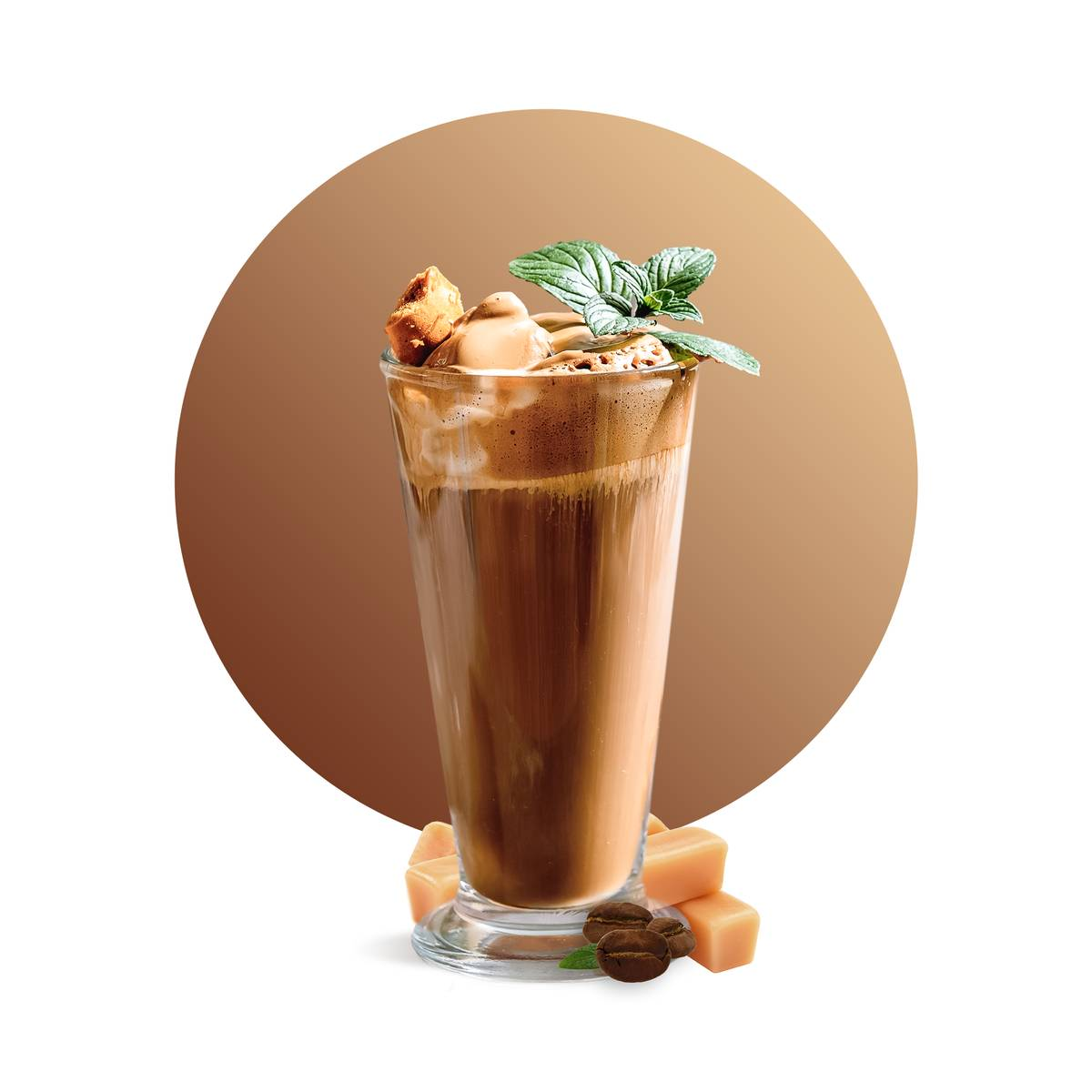 Toffee Coffee Frappe Recipe