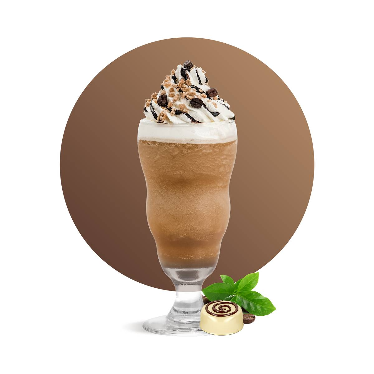 White Chocolate Coffee Frappe Drink Recipe