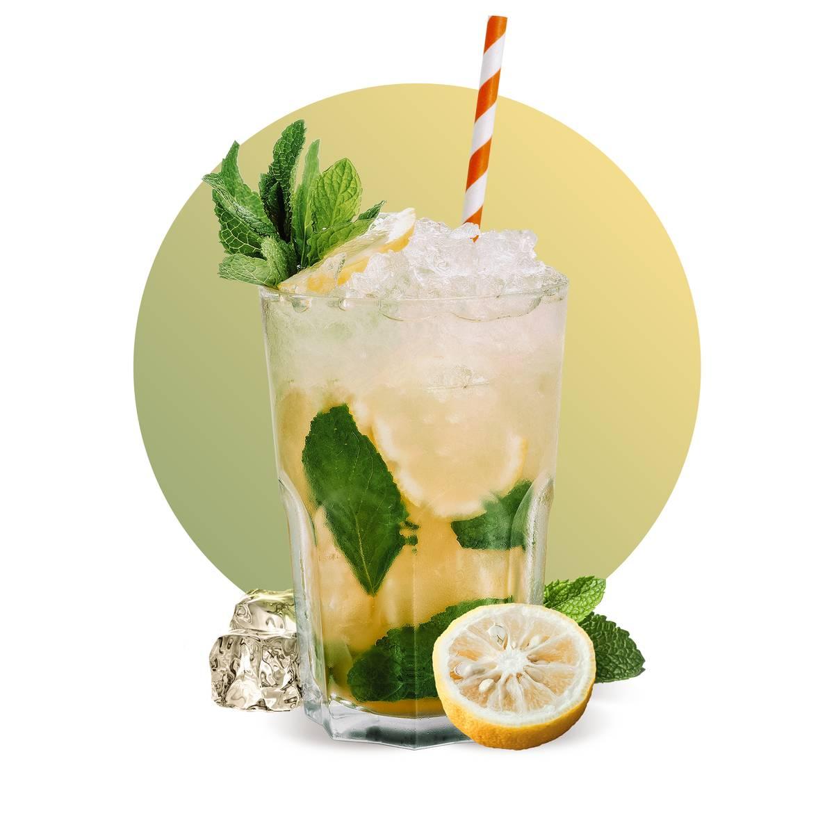 Yuzu Virgin Mojito Drink Recipe