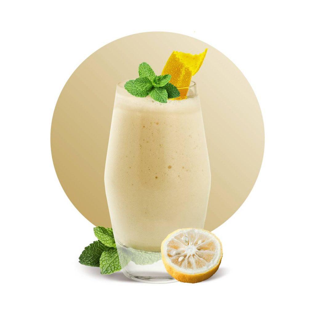Yuzu Yogurt Smoothie Drink Recipe